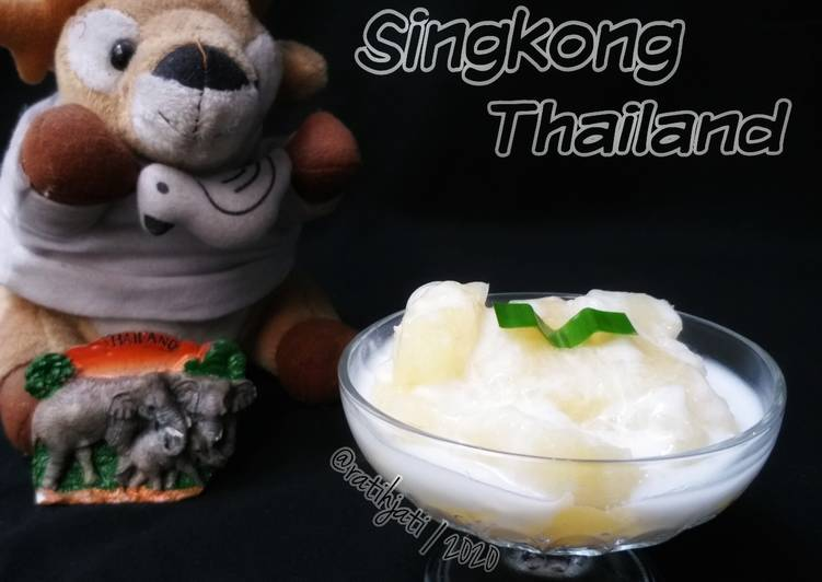 Resep Singkong Manis ala Thailand
