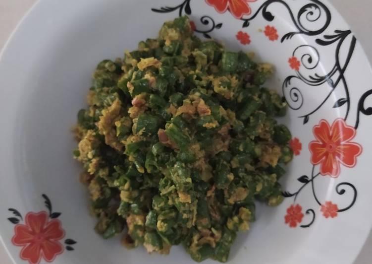 Resep Pencok kacang panjang