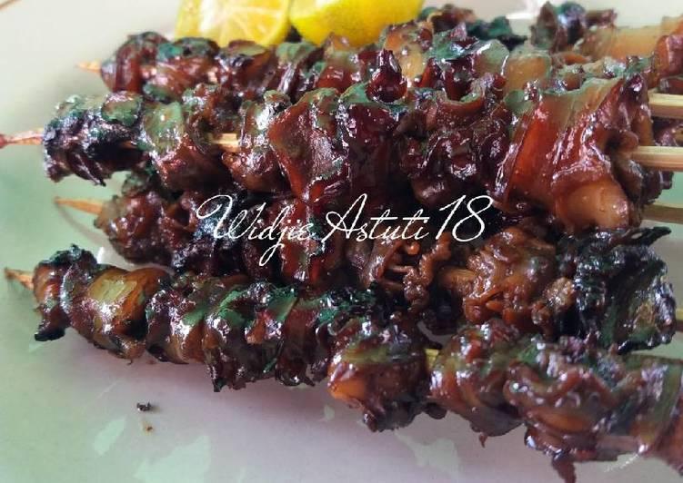 Resep Sate Haliling/Keong Sawah