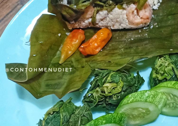 Resep Botok Tempe Udang Diet no gula garam sambel kurma #jelajahrasa