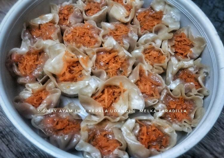 Resep Siomay Ayam (Mix Kepala Udang)