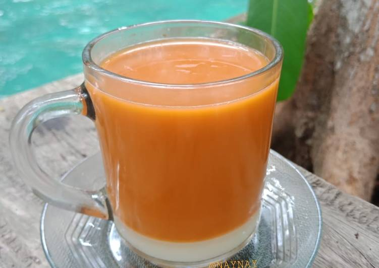 Resep Hot Thai Tea