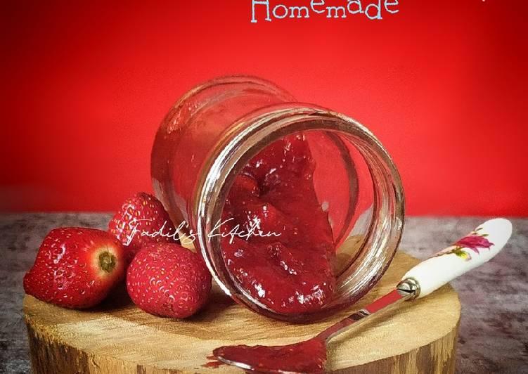 Resep Selai Strawberry Home Made
