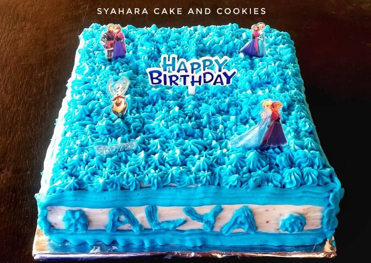 Resep Sponge Cake Frozen B - Day