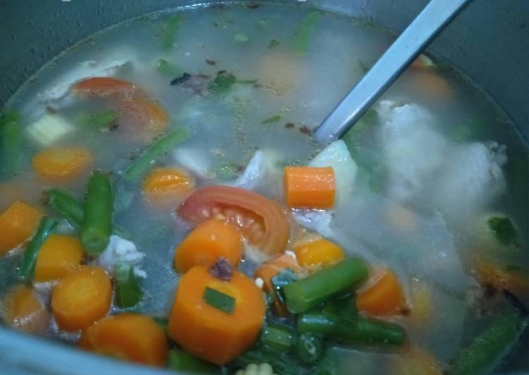 Resep Sup Ayam Rempah