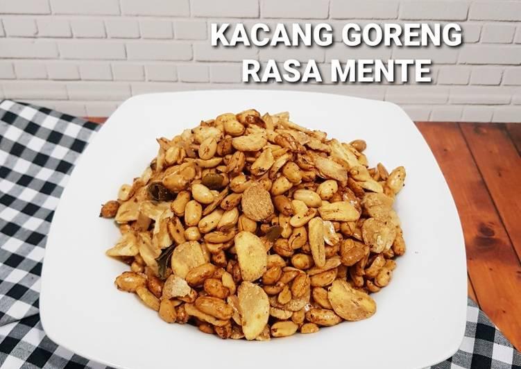 Resep Kacang Goreng Rasa Mente