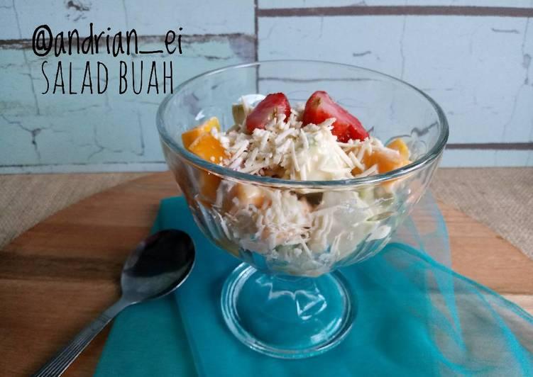 Resep Salad Buah #pr_adakejunya