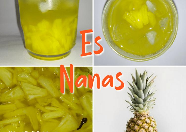 Resep Es Nanas Segar, Pasti Jadi