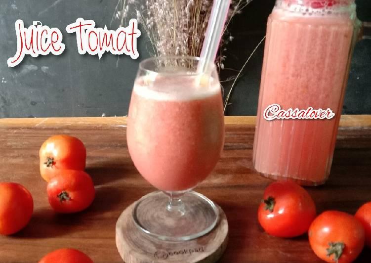 Resep Juice Tomat