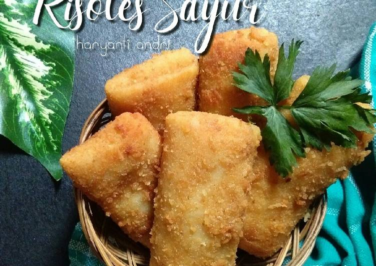 Resep Risoles Sayur