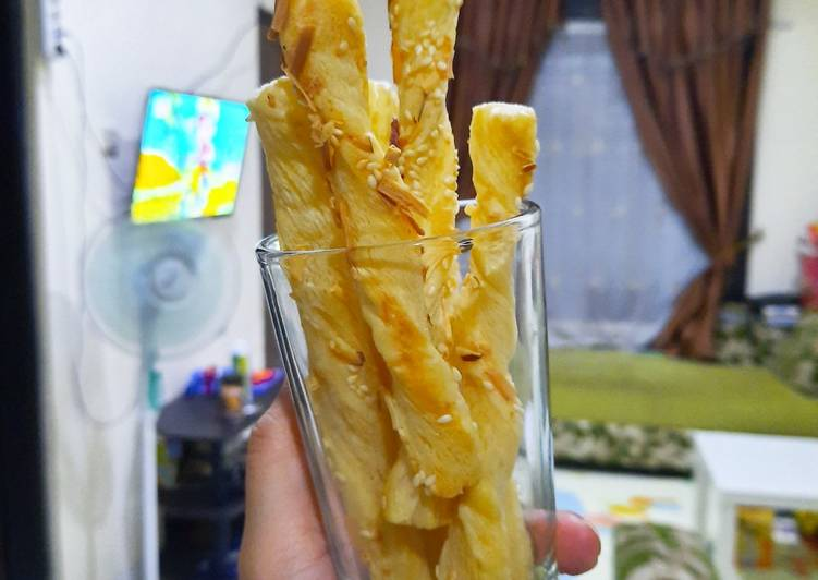Resep Stick Cheese Pastry