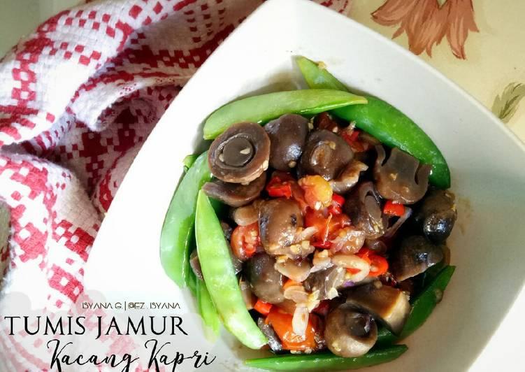 Resep Tumis Jamur Kacang Kapri
