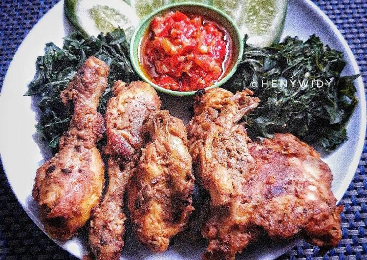 Resep Ayam bakar bumbu padang
