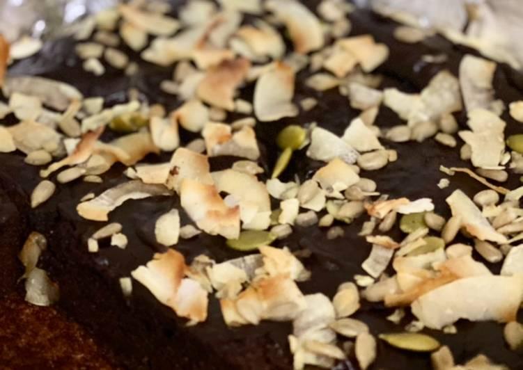 Resep Fudgy Flourless Avocado Brownies (lowcarb)