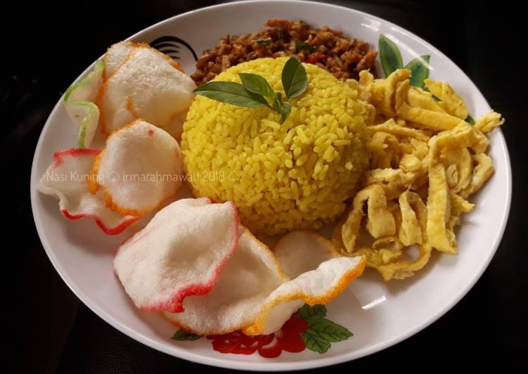 Resep Nasi Kuning/Nasi Uduk #pr_bukannasibiasa