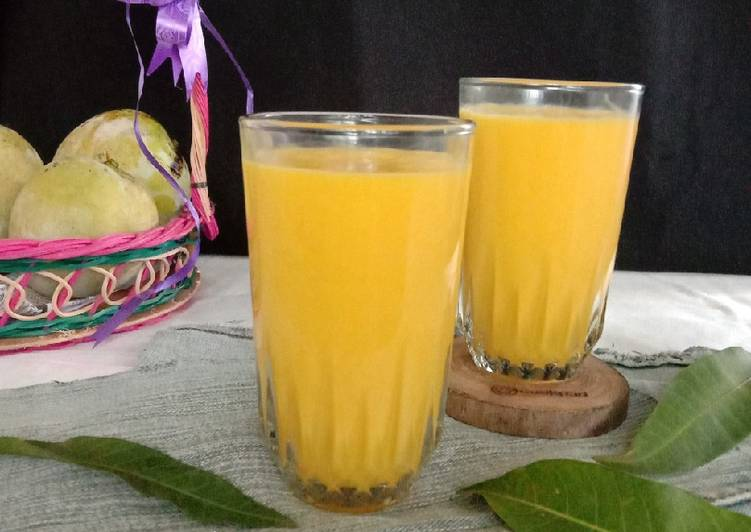 Resep Mango Juice