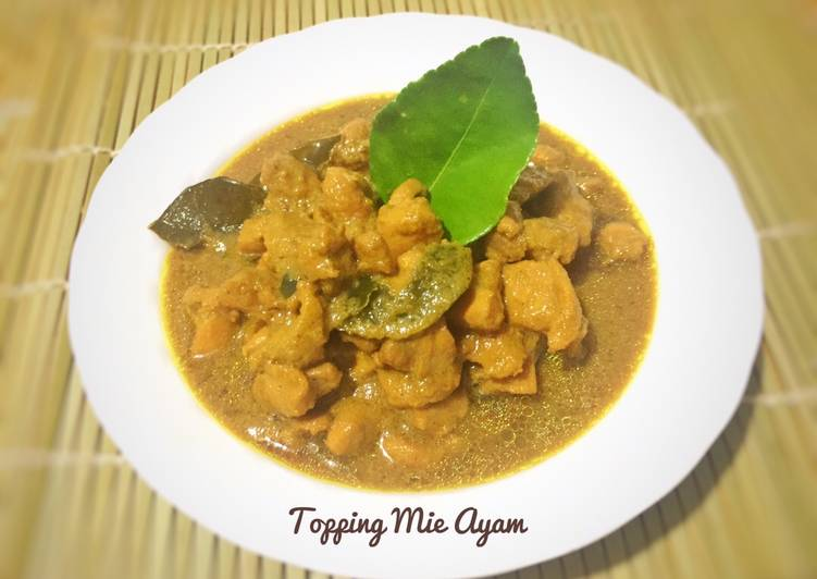 Resep Topping Mie Ayam enak