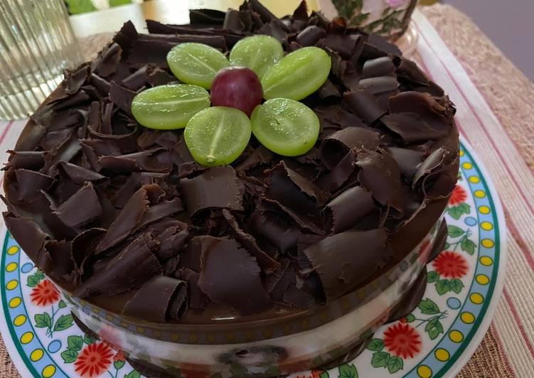 Resep Black Forest Pudding