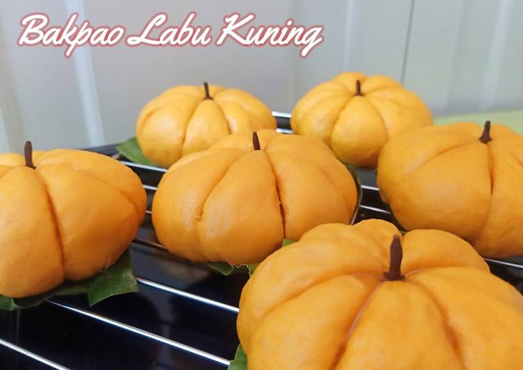 Resep Bakpao Labu Kuning