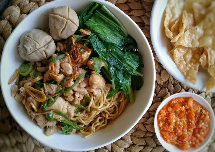 Resep Mie Yamin (Mie Ayam Kering)
