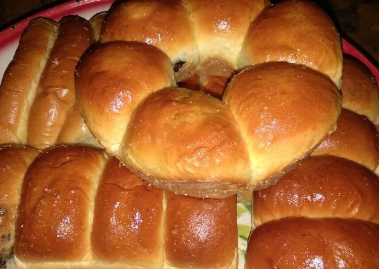 Resep Roti menul(sobek/sisir)