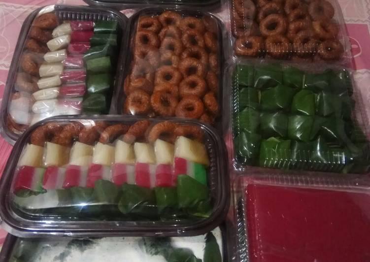Resep Dekor kue nampan mm Anna