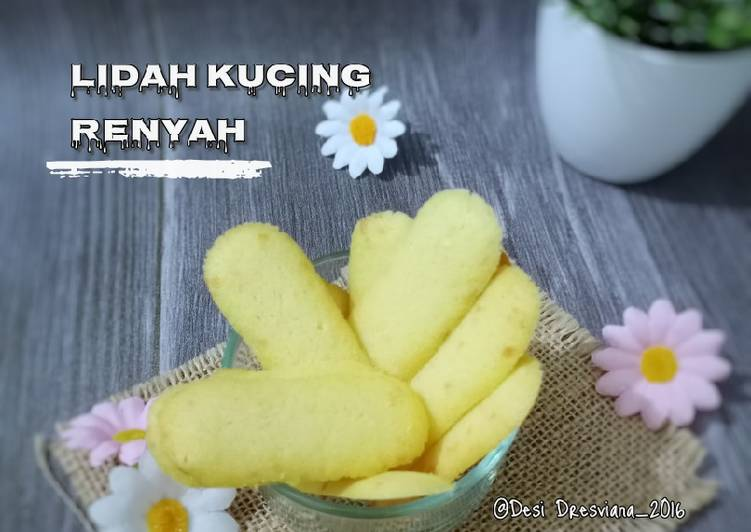 Resep Kue Lidah Kucing Renyah