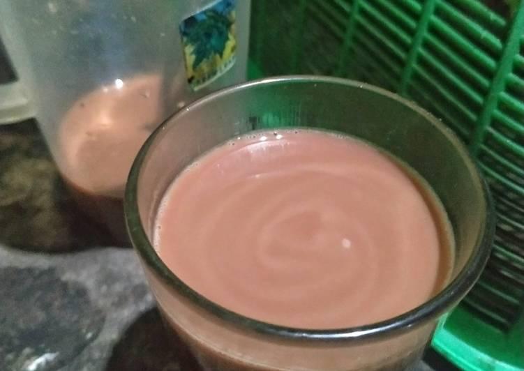 Resep Cokelat fiber creme