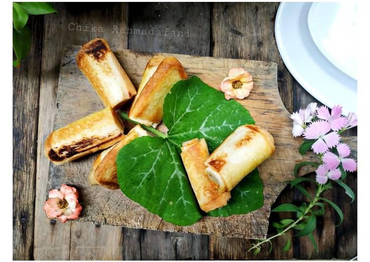 Resep Roti Gulung Sosis