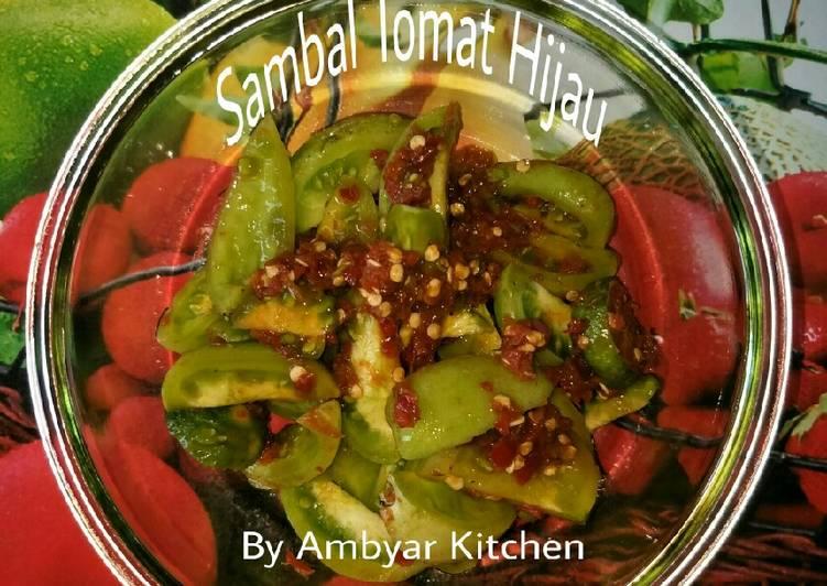 Resep Sambal Tomat Hijau Supel (Super Simpel)