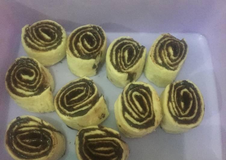 Resep Roti gulung #kamisMANIS