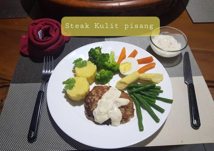 Resep Steak Kulit Pisang