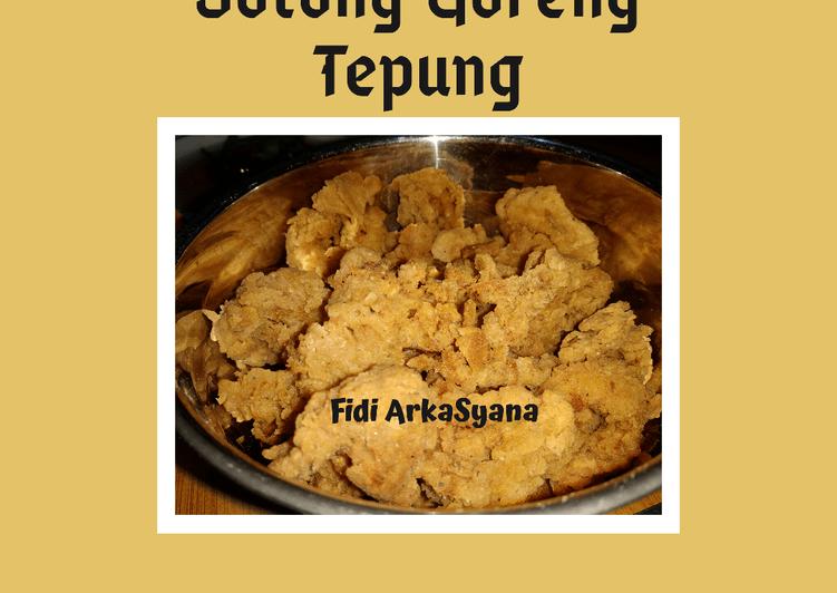 Resep Sotong Goreng Tepung (W16)
