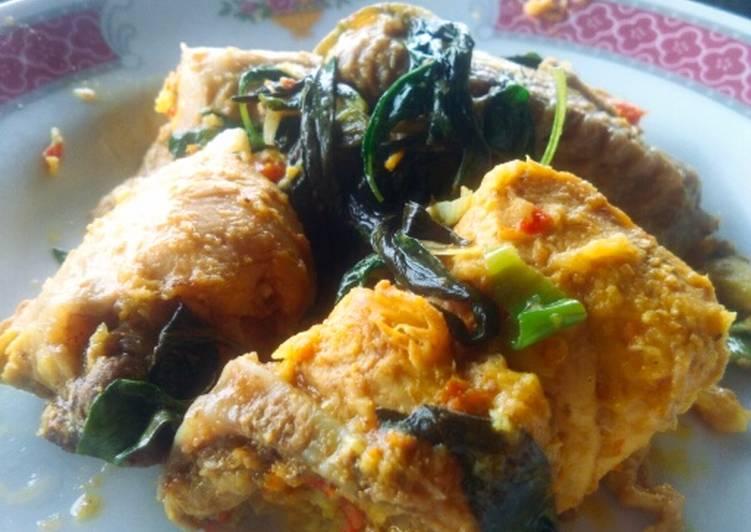 Resep Ayam woku daun kemangi