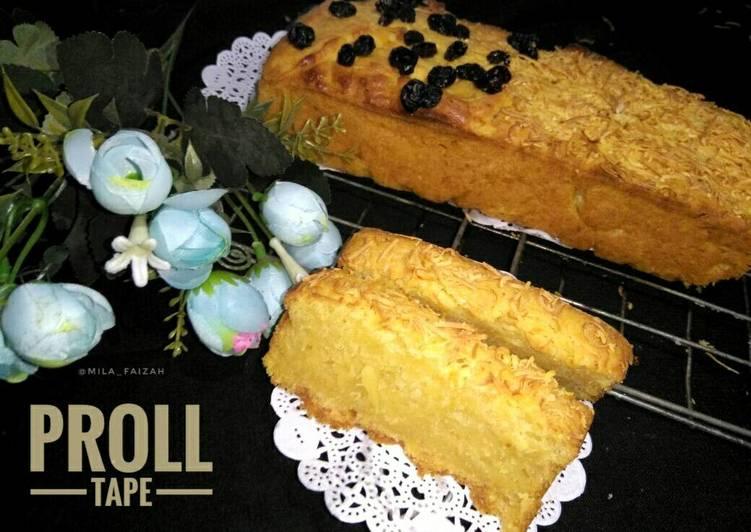Resep Proll tape 2 telur