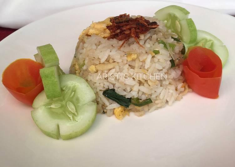 Resep Nasi Goreng dengan Bawang Putih