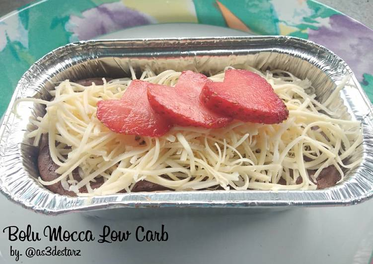 Resep Bolu Mocca Low Carb/Keto/DEBM