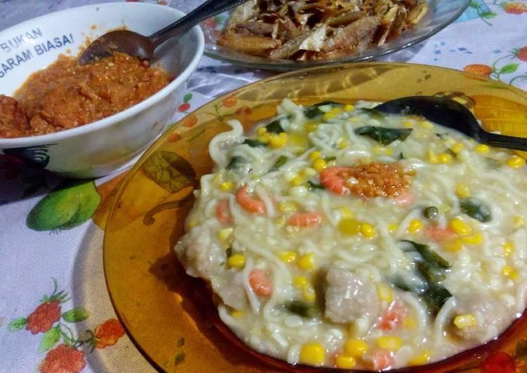 Resep Bubur Jagung Putih (Barobbo)