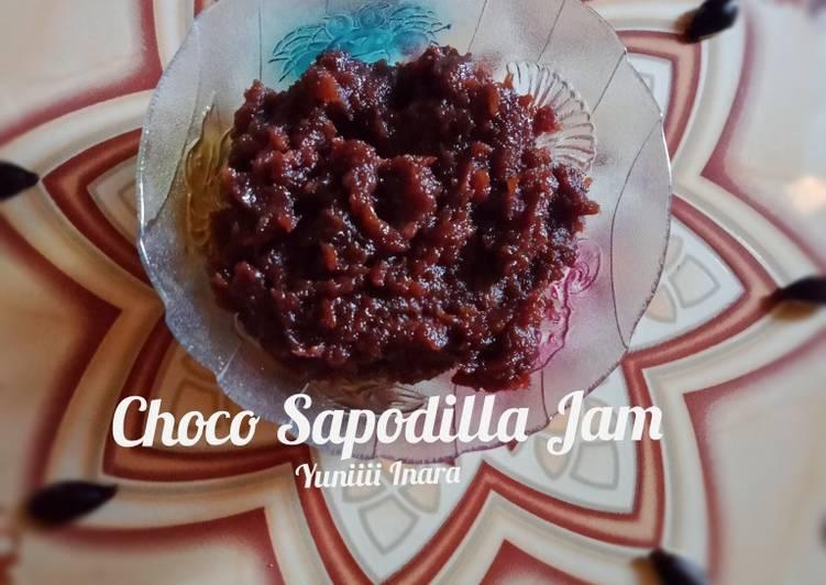 Resep Choco Sapodilla Jam/ Celai Cawo Coklat