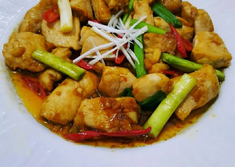 Resep Ayam Fillet Goreng Mentega