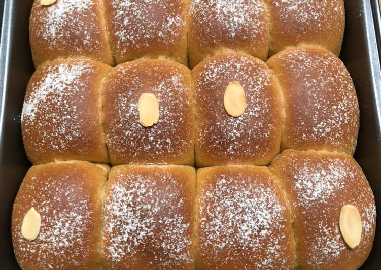 Resep Milk Coffee Bun / Roti Kopi Susu