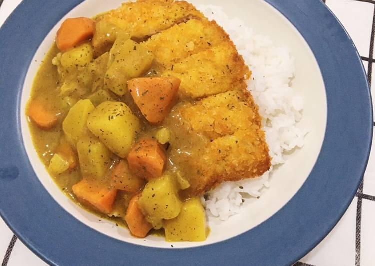 Resep Chicken Katsu Curry