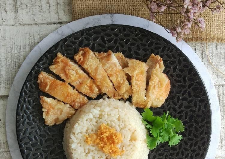Resep Nasi Hainam rice cooker
