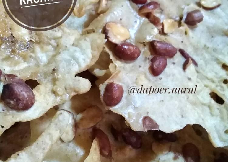 Resep Peyek kacang