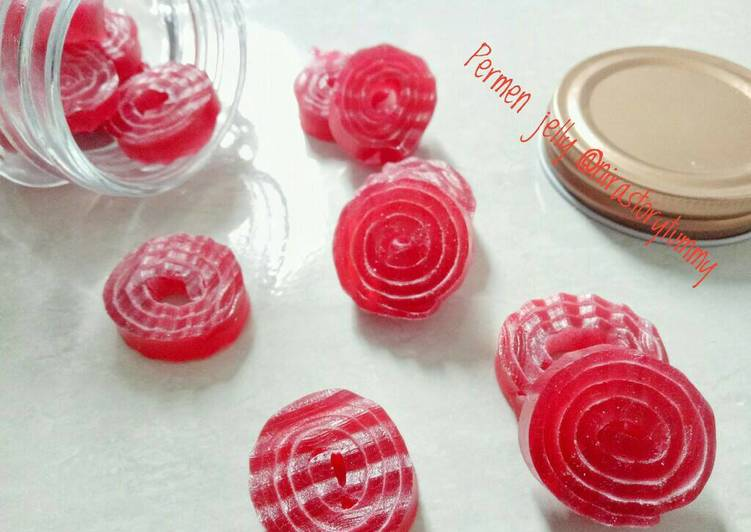 Resep Permen jelly