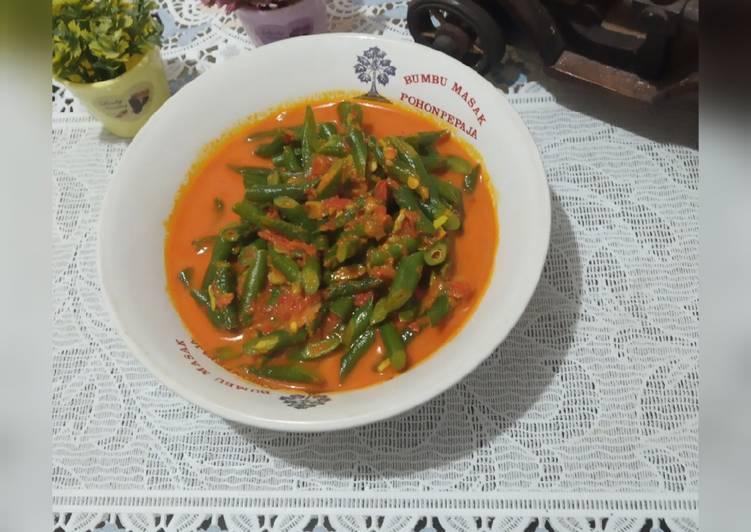 Resep Gulai Kacang Panjang