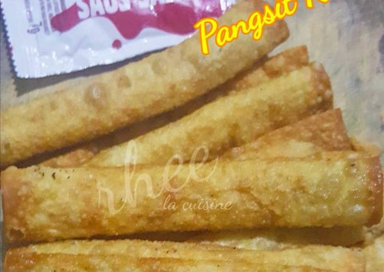 Resep Pangsit Roll