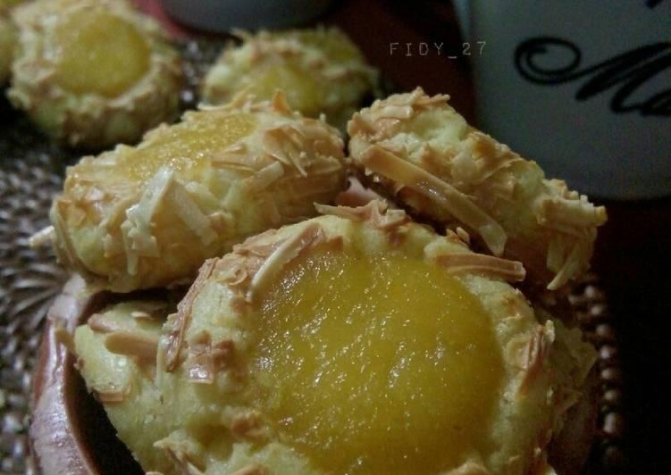 Resep Orange Curd Thumbprint Cookies