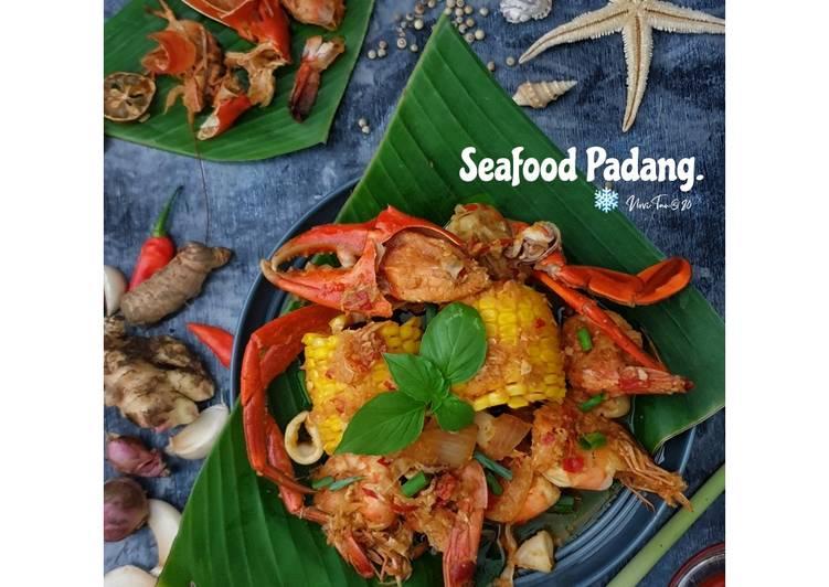 Resep 2Seafood Saus Padang |