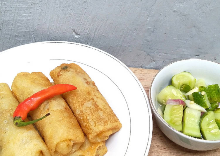 Resep Bamboo Shoots Spring Rolls
